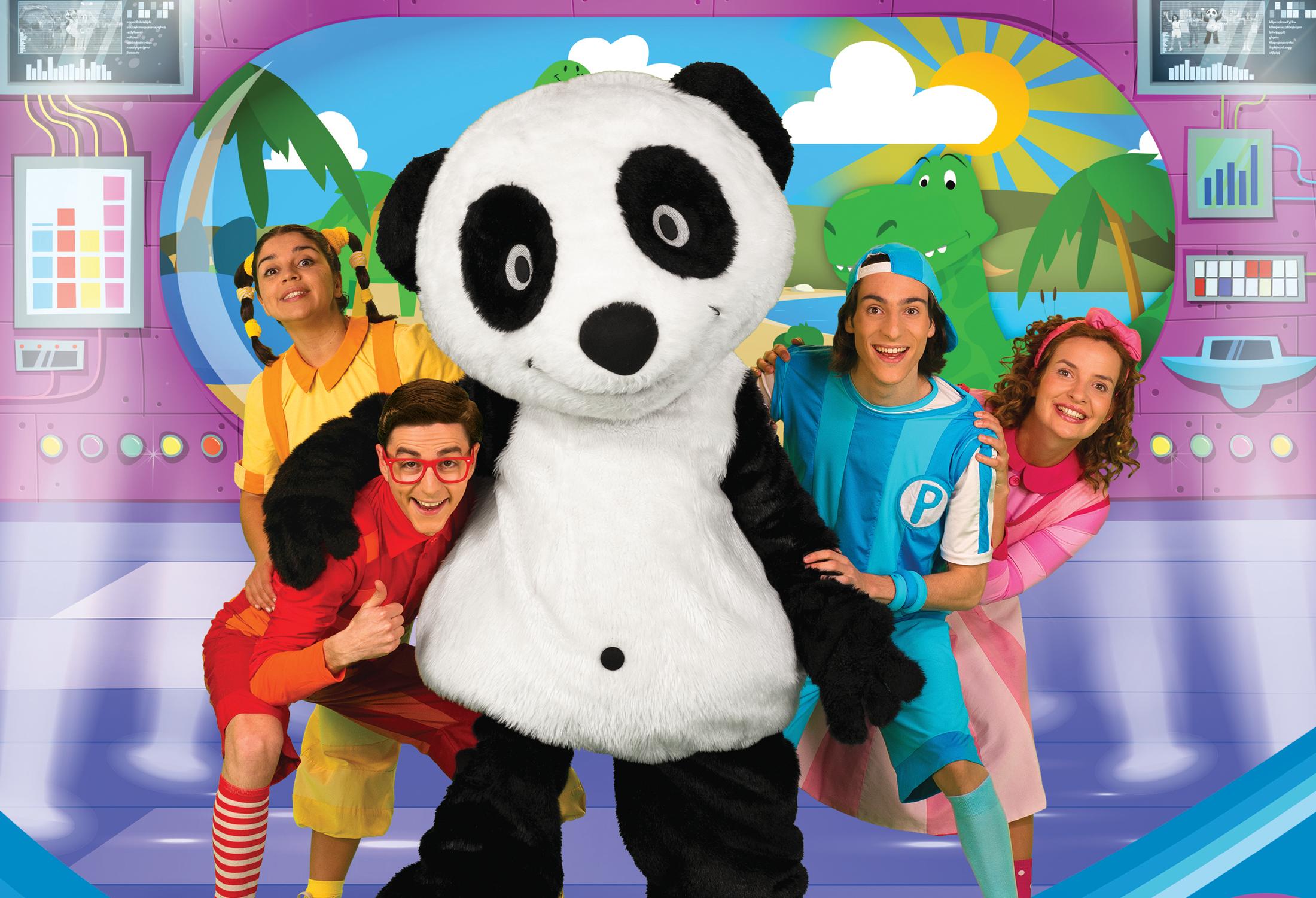 Panda e os Caricas, O Musical: A Máquina do Tempo