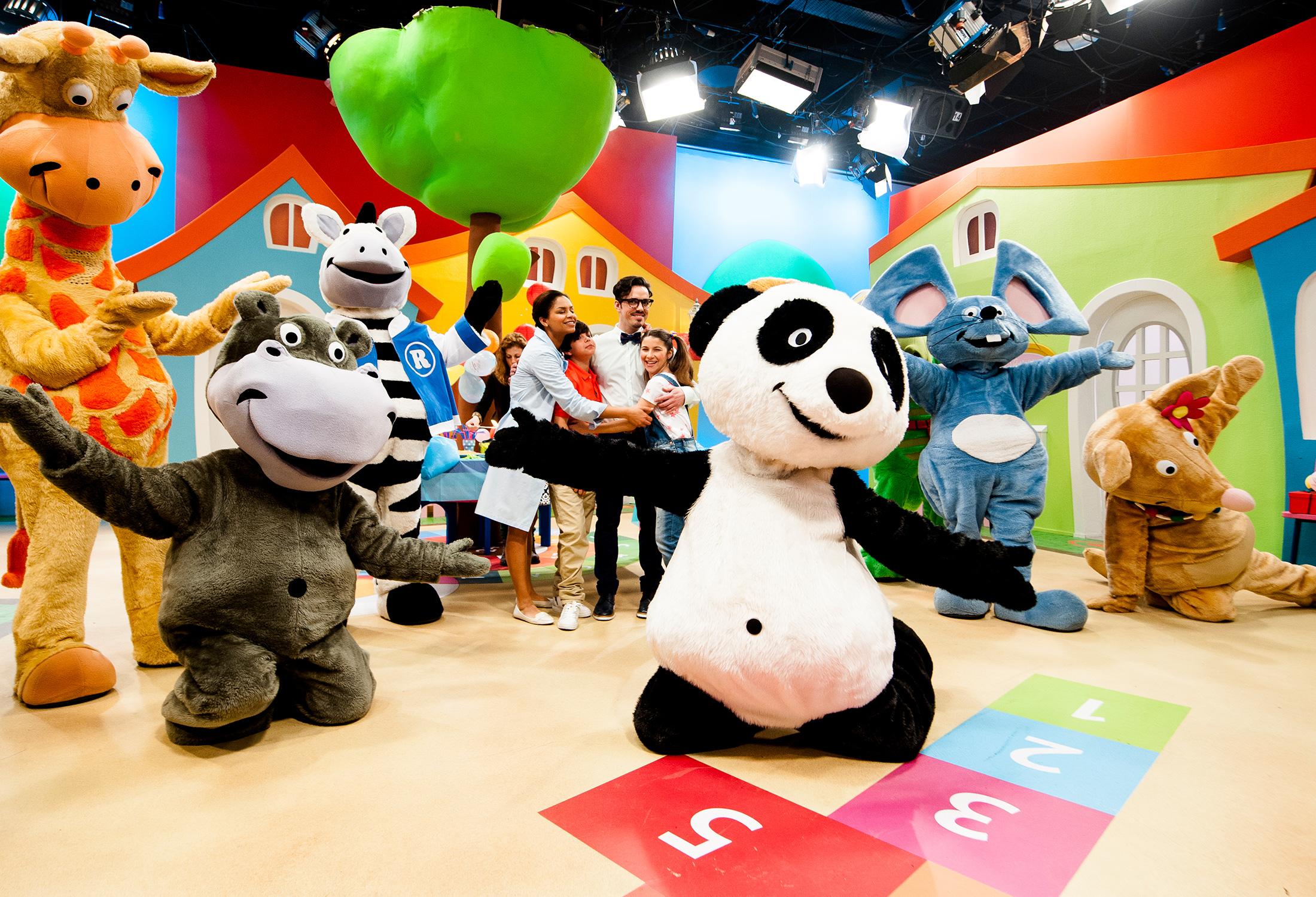 Panda e os Amigos