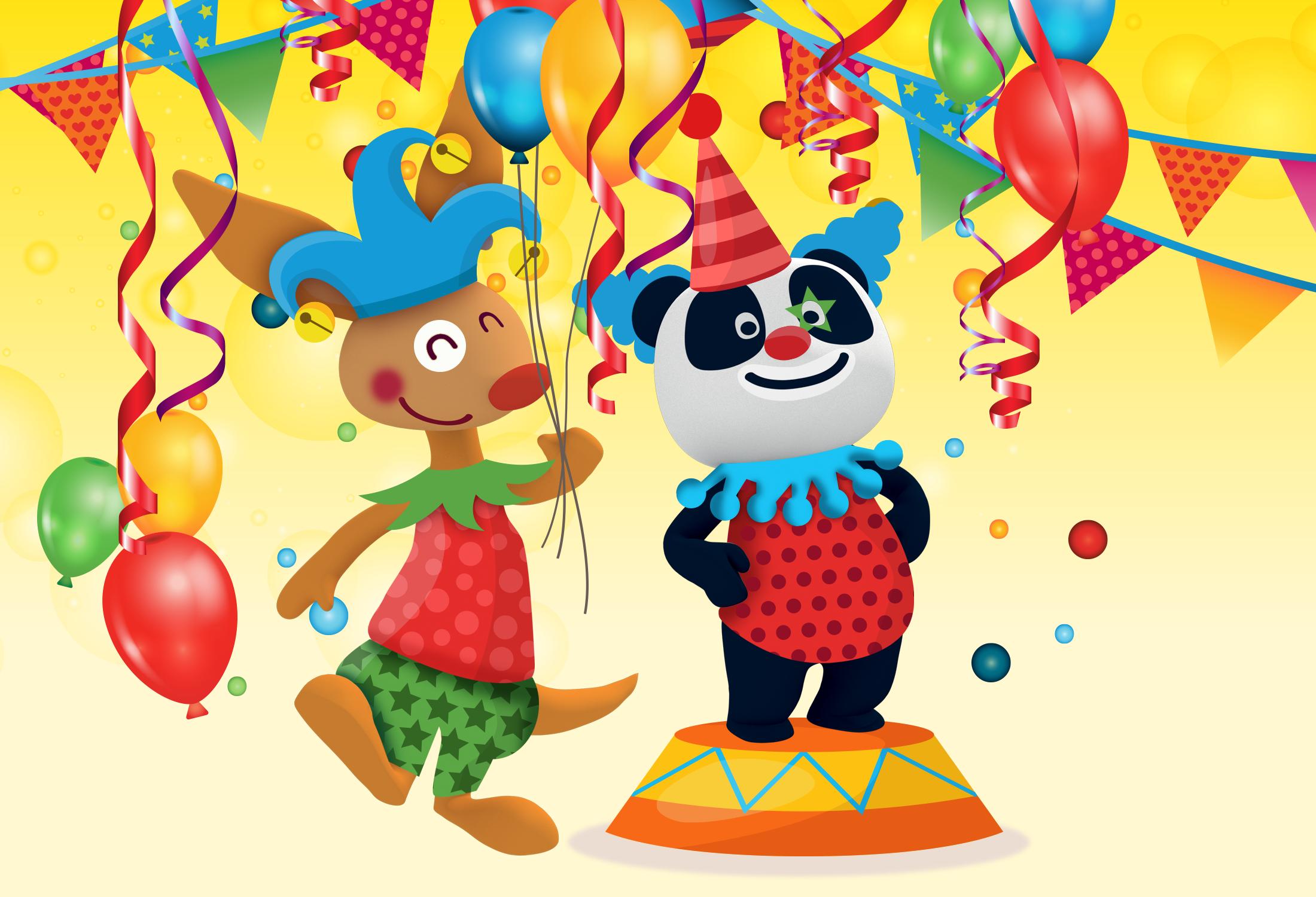 O Carnaval mais fixe é aqui no Canal Panda!