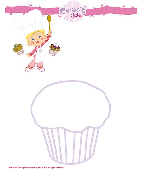 Decora o cupcake