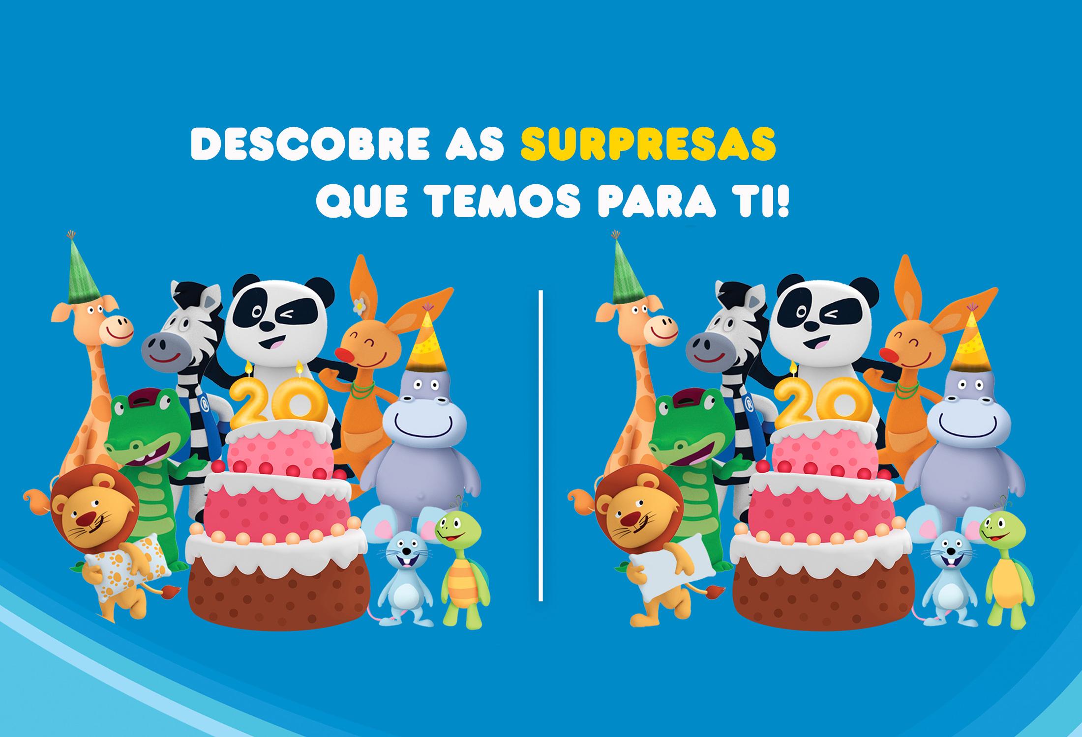 Parabéns Canal Panda