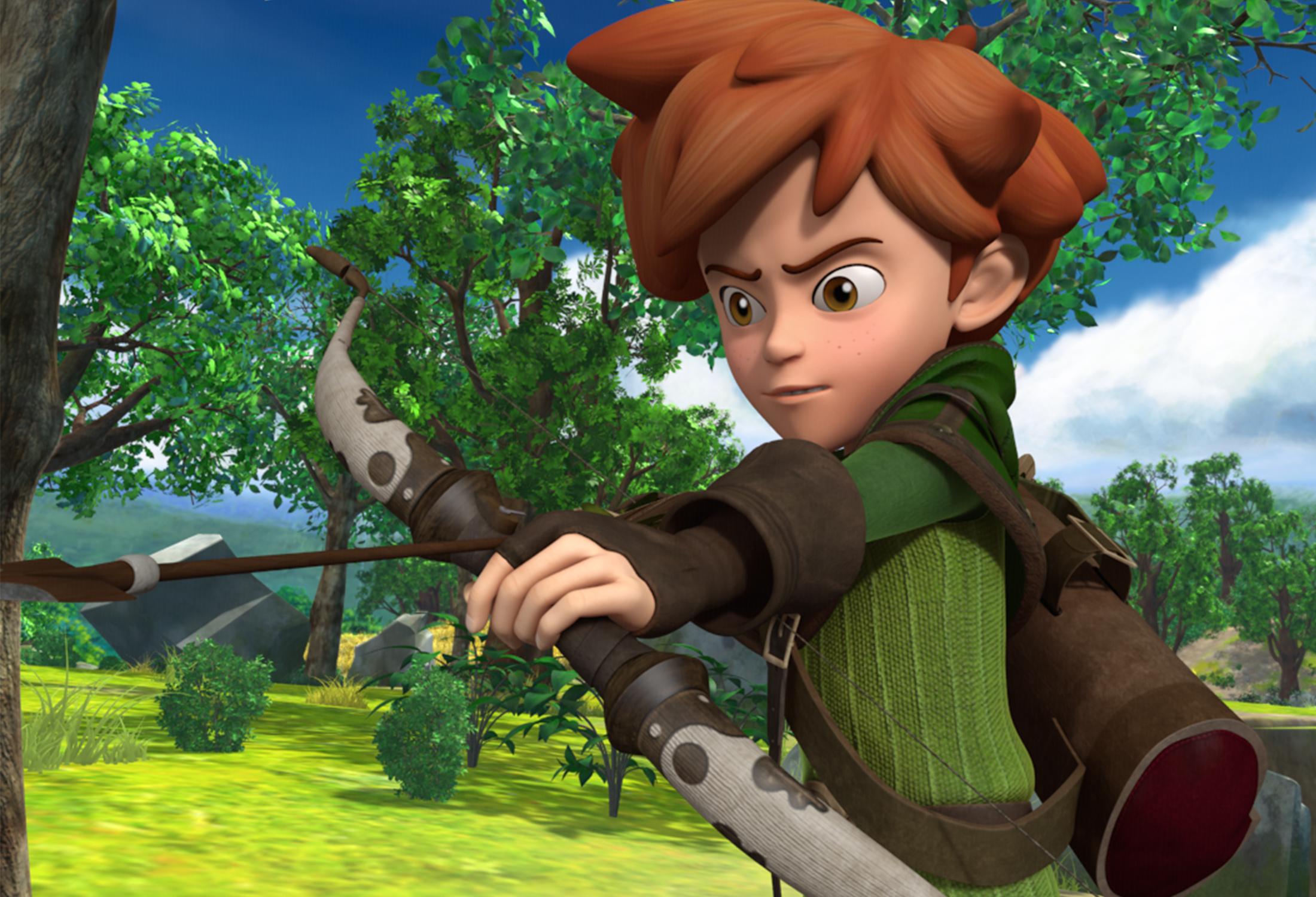Robin dos Bosques - Travessuras em Sherwood