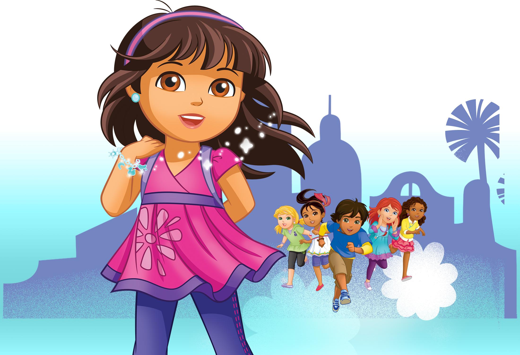 Dora e Amigos na Cidade