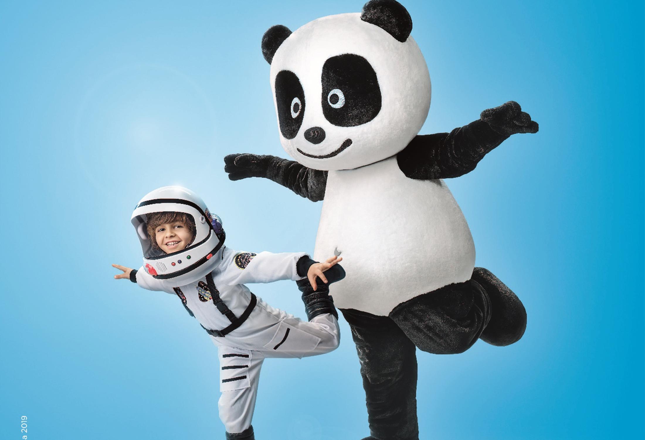 O Panda anda sempre contigo