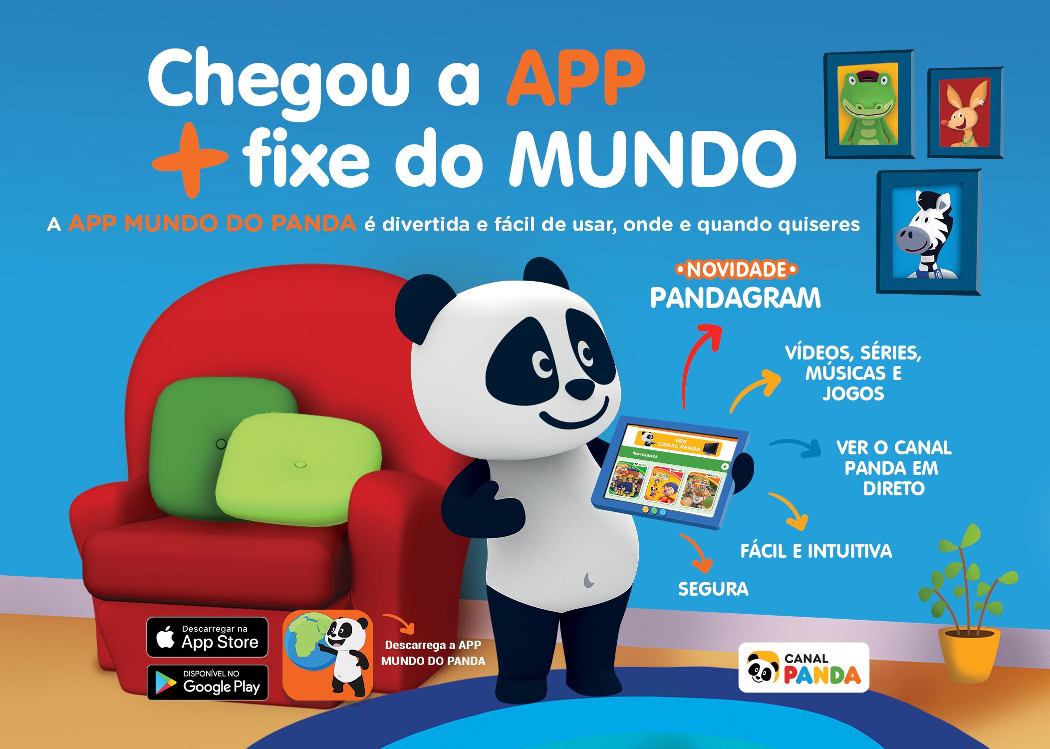 APP MUNDO DO PANDA